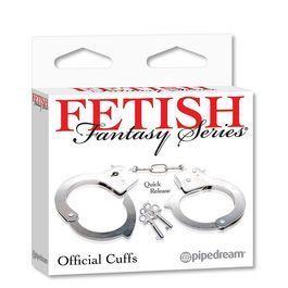 Fetish fantasy esposas de metal 3