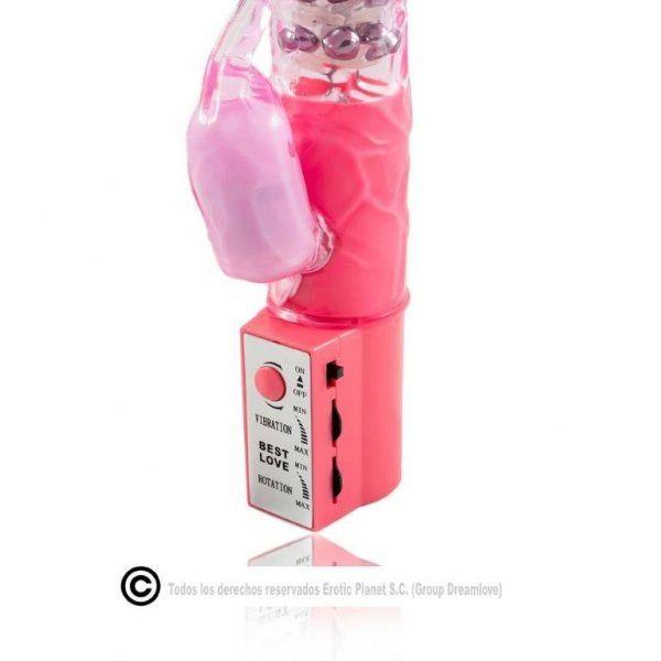 Vibrador conejito rosa 2