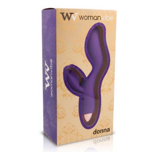 Vibrador de silicona Womanvibe Donna 4
