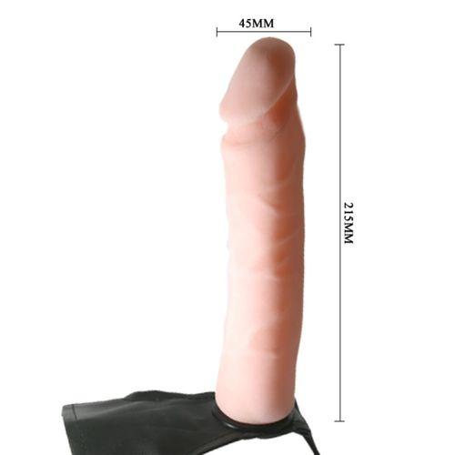 Arnés con dildo Ultra Pasionate Strap On 21.5 cm 6