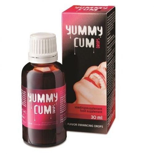 Aumentador de sabor y semen Cum Drops 30 ml