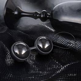 Bolas chinas Lelo Luna Beads Noirs 5