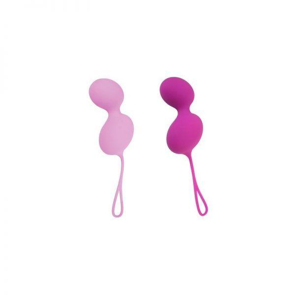 Bolas chinas Ovo L3 suaves fucsia y rosa