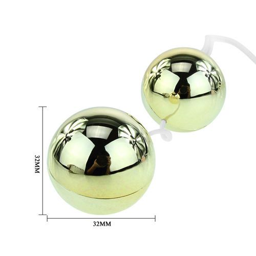 Bolas chinas con vibrador Golden 4
