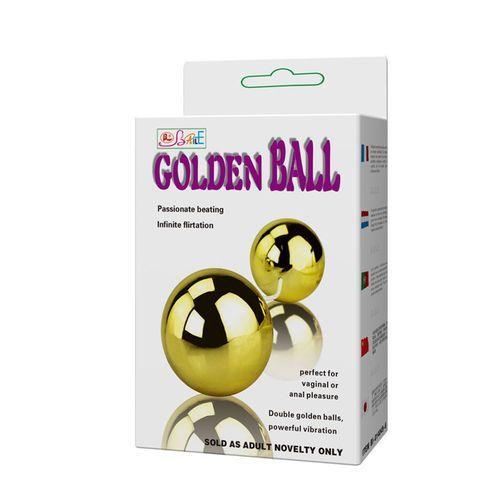 Bolas chinas con vibrador Golden 6