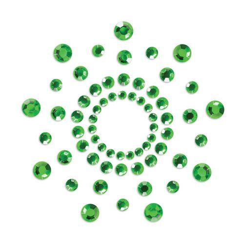 Cubre pezones Mimi Bijoux Indiscrets verde esmeralda