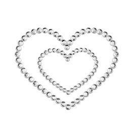 Cubre pezones Mimi Corazón plata