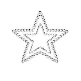 Cubre pezones Mimi estrella plata