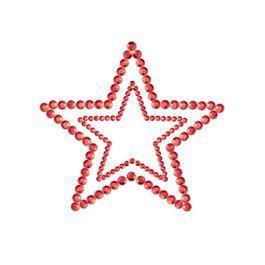 Cubre pezones Mimi estrella rojo