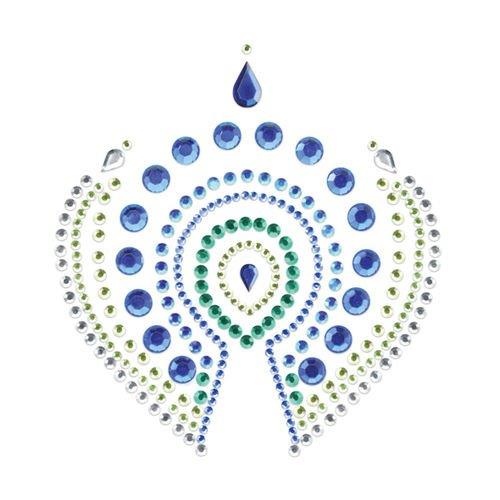 Joyería íntima Flamboyant Indiscrets azul y verde 2