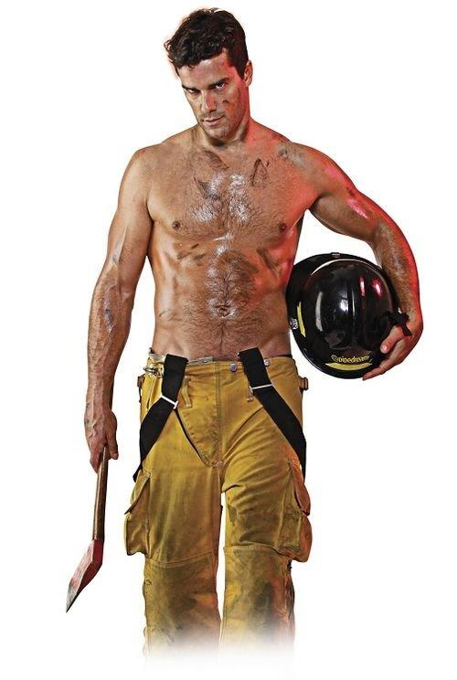 Muñeco hinchable bombero 2