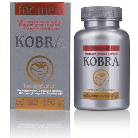 Potenciador masculino 60 comprimidos Kobra