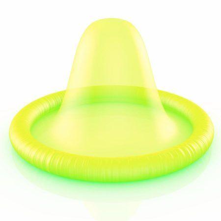 Preservativo fluorescente Amor