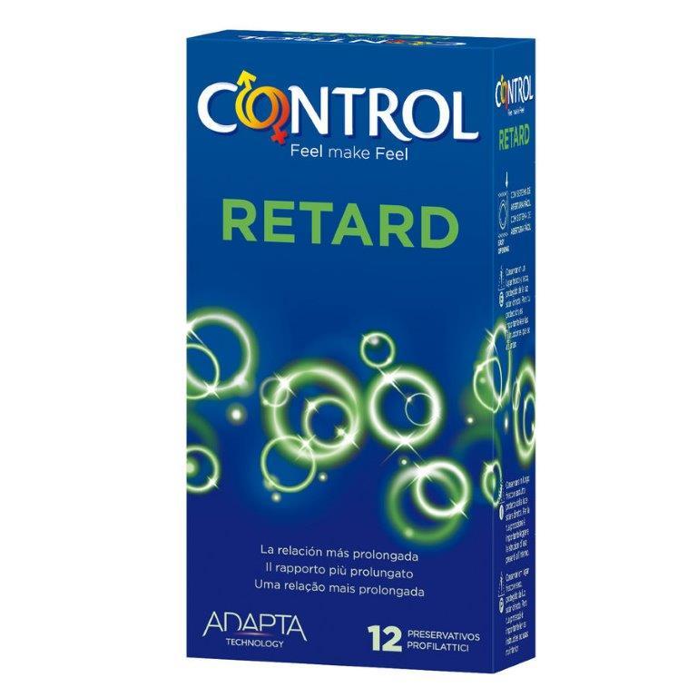 Preservativo retardante 12 uds Control