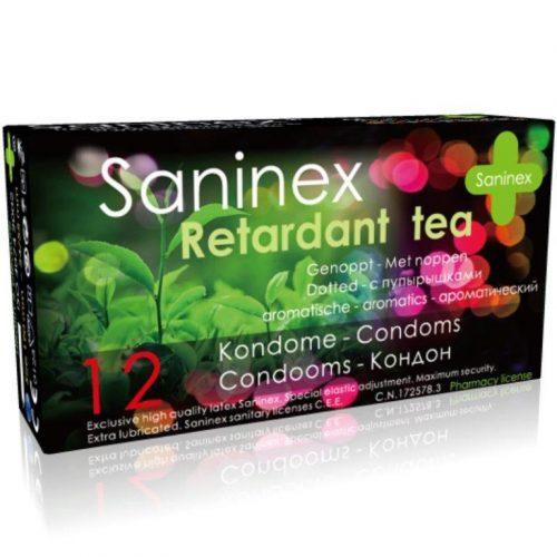 Preservativo té retardante 12 uds Saninex
