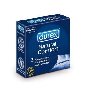 Preservativos Durex natural Comfort 3 uds
