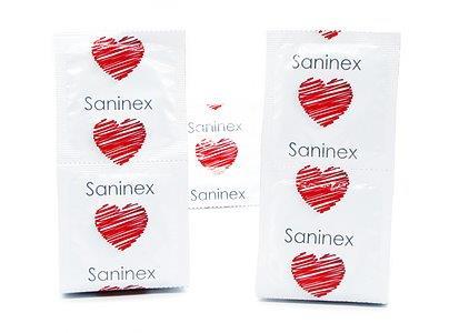Preservativos gay Passion punteados 3 uds Saninex 2