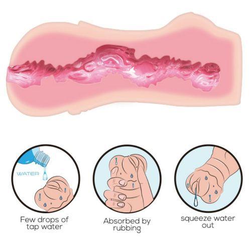 Vagina con masturbador Water Skin 7