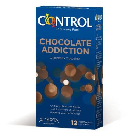 Preservativos sabor chocolate 12 uds Control