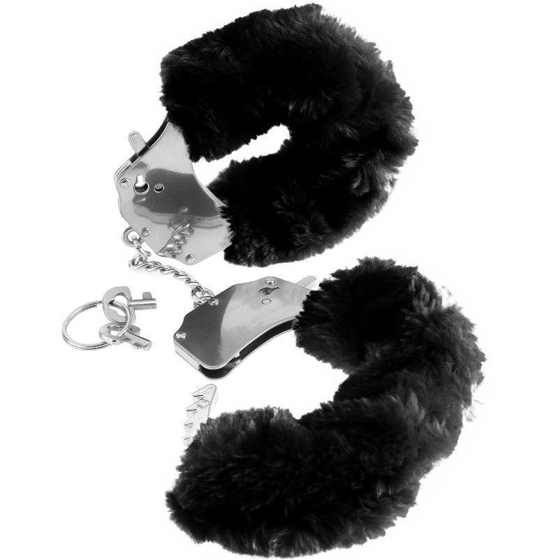 Esposas Fetish Fantasy estampado negro