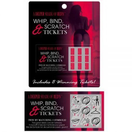 Juego de mesa Whip Bind and Scratch Tickets