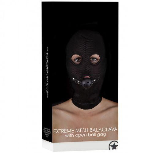 Máscara con 3 orificios con mordaza transpirable 2