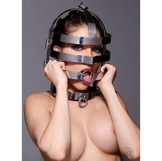 Máscara con collar de acero 2