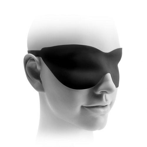 Máscara de silicona negra