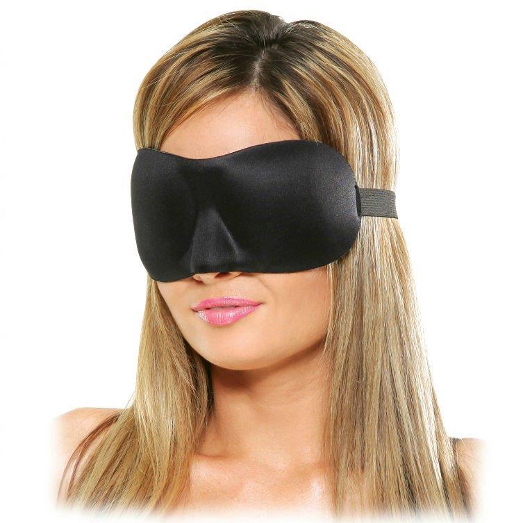 Máscara negra Deluxe Fantasy