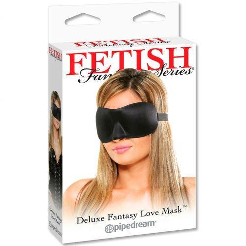 Máscara negra Deluxe Fantasy 5
