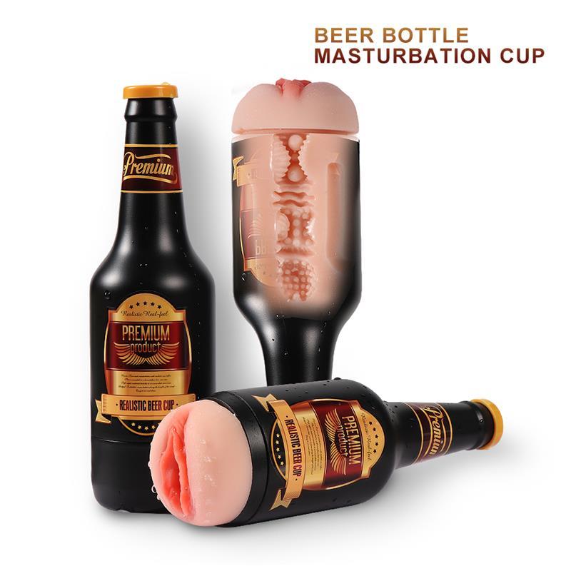Masturbador Nelly botella de cerveza
