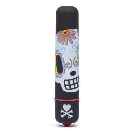 Mini bala vibradora black día de los muertos