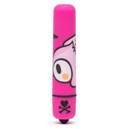 Mini bala vibradora rosa pájaro