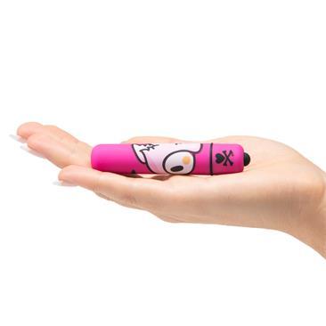 Mini bala vibradora rosa pájaro 3