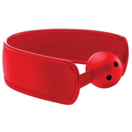 Mordaza transpirable rojo Ouch Brace