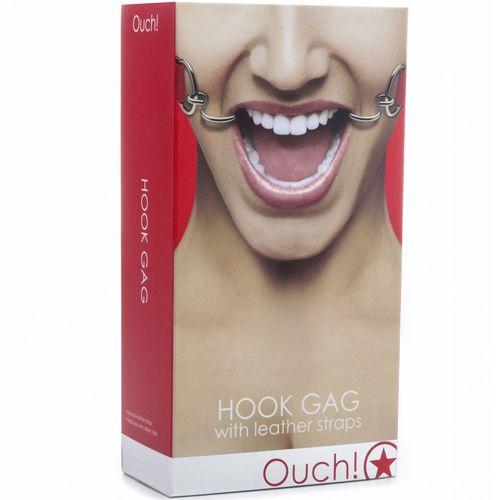 Ouch mordaza Hook Gag rojo 2
