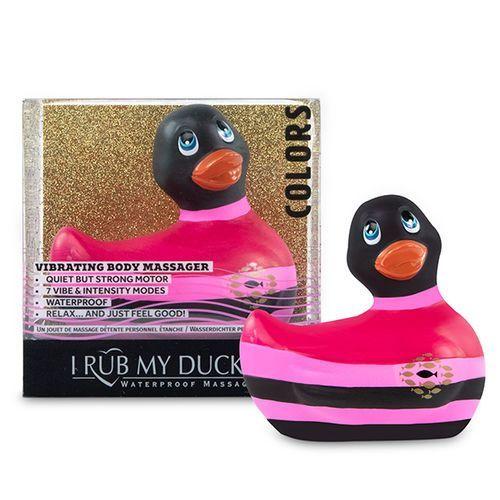 Pato vibrador I Rub My Duckie 2.0 negro 2