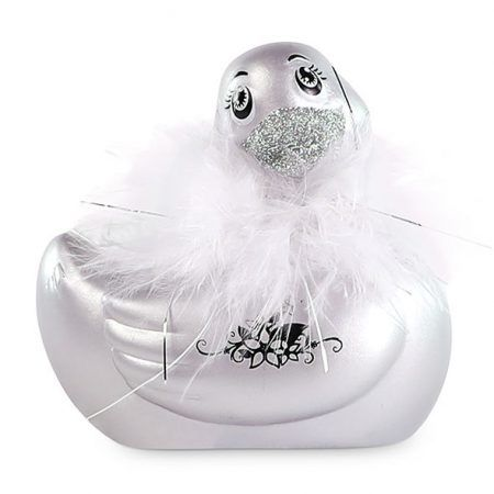Pato vibrador París plata I Rub My Duckie 2.0