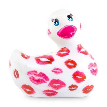 Pato vibrador Romance blanco y rosa I Rub My Duckie 2.0