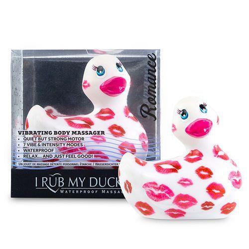 Pato vibrador Romance blanco y rosa I Rub My Duckie 2.0 2