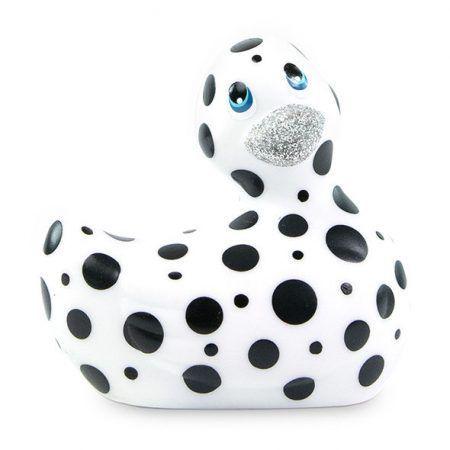 Pato vibrador blanco y negro I Rub My Duckie 2.0
