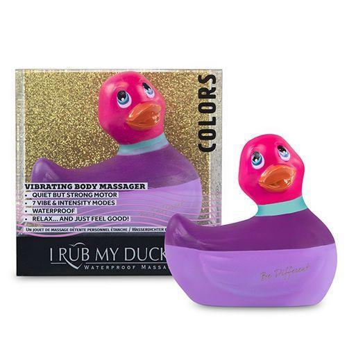 Pato vibrador rosa I Rub My Duckie 2.0 2
