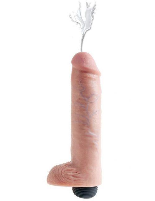 Pene realístico eyaculador natural 2540 cm