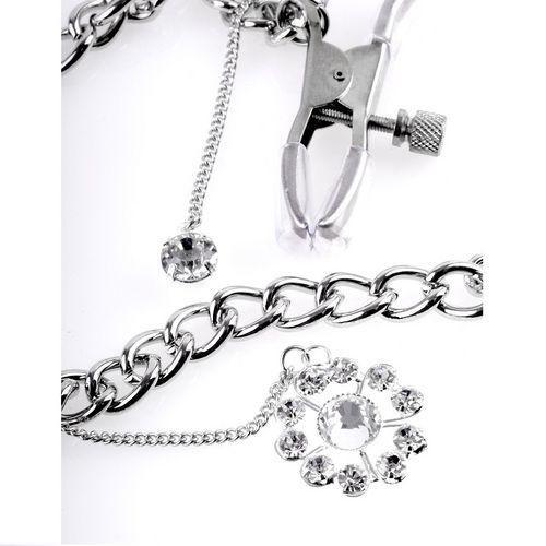 Pinzas con cadena para pezones 3