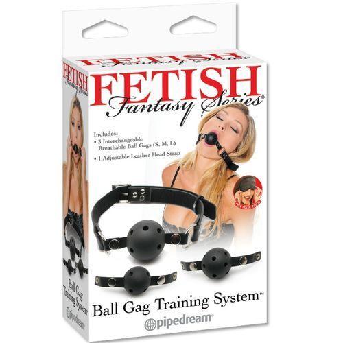 Set de entrenamiento mordazas Fetish Fantasy 4