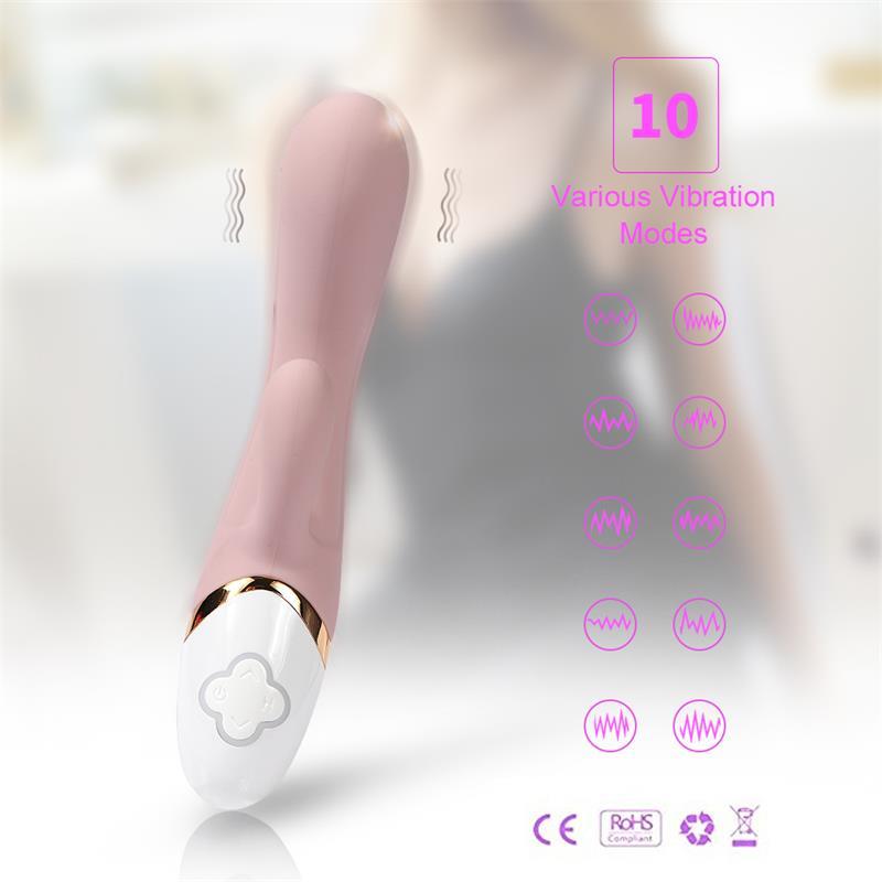Vibrador de silicona USB Huan Y 193 cm 9