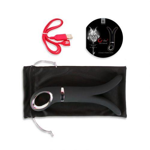 Vibrador masajeador Gvibe 2 negro 2