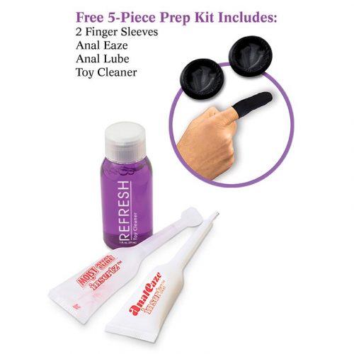 Vibrador masajeador Ribbed Prostate Vibe 3