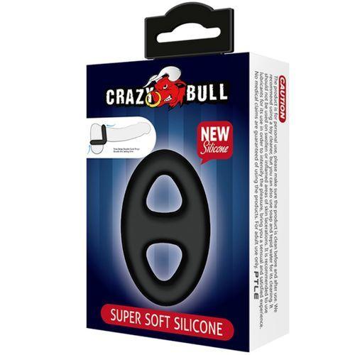 Anillo doble de silicona médica Crazy Bull 6