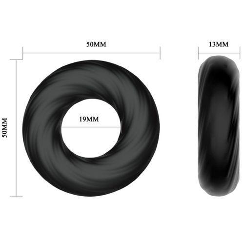 Anillo para el pene de silicona super suave 5